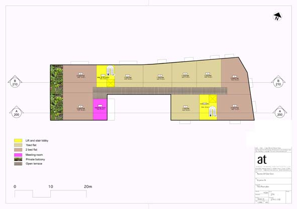 !st Floor plan - Housing for Older Women